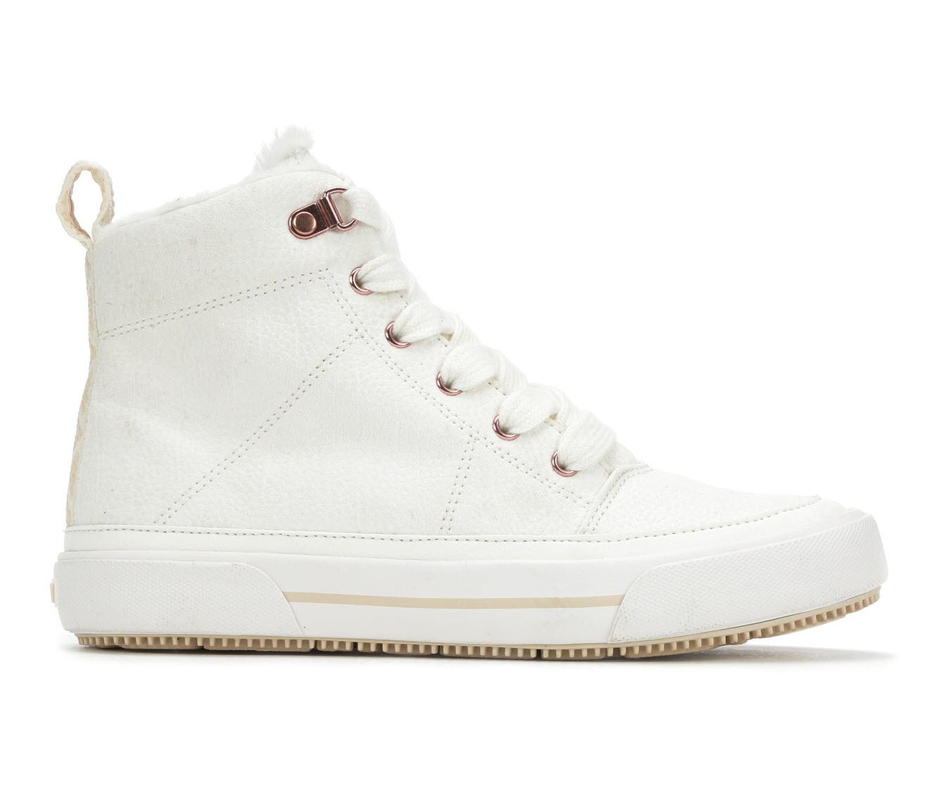 Roxy Ivan Fur Women's Shoe (White Canvas)