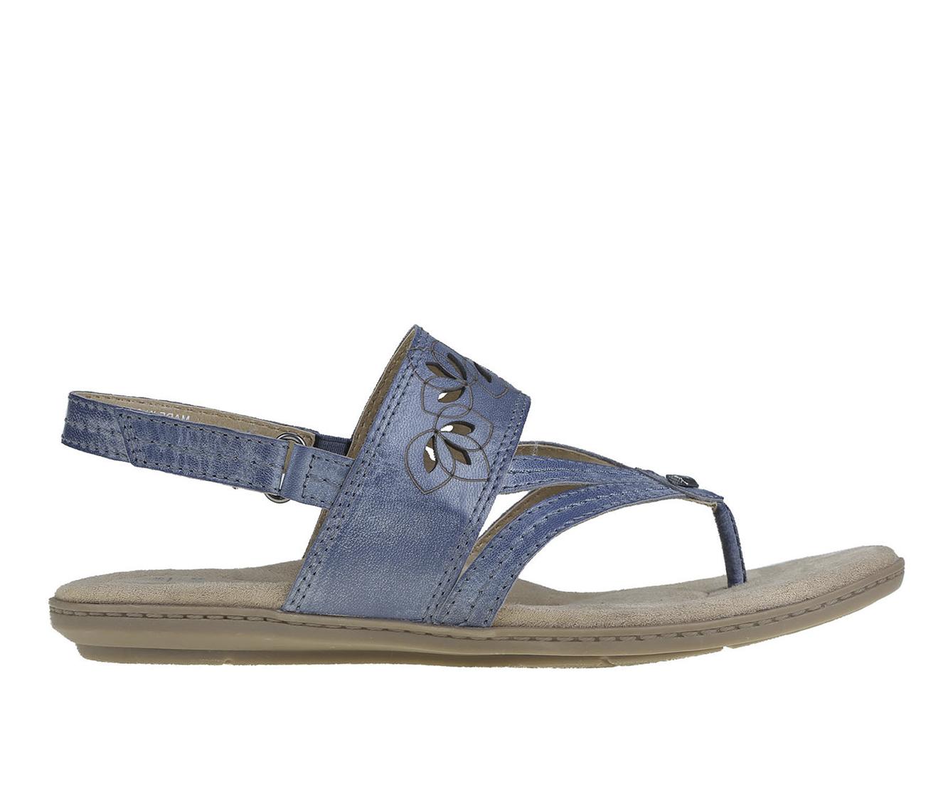 Earth Origins Belle Becky Women's Sandal (Blue Leather)
