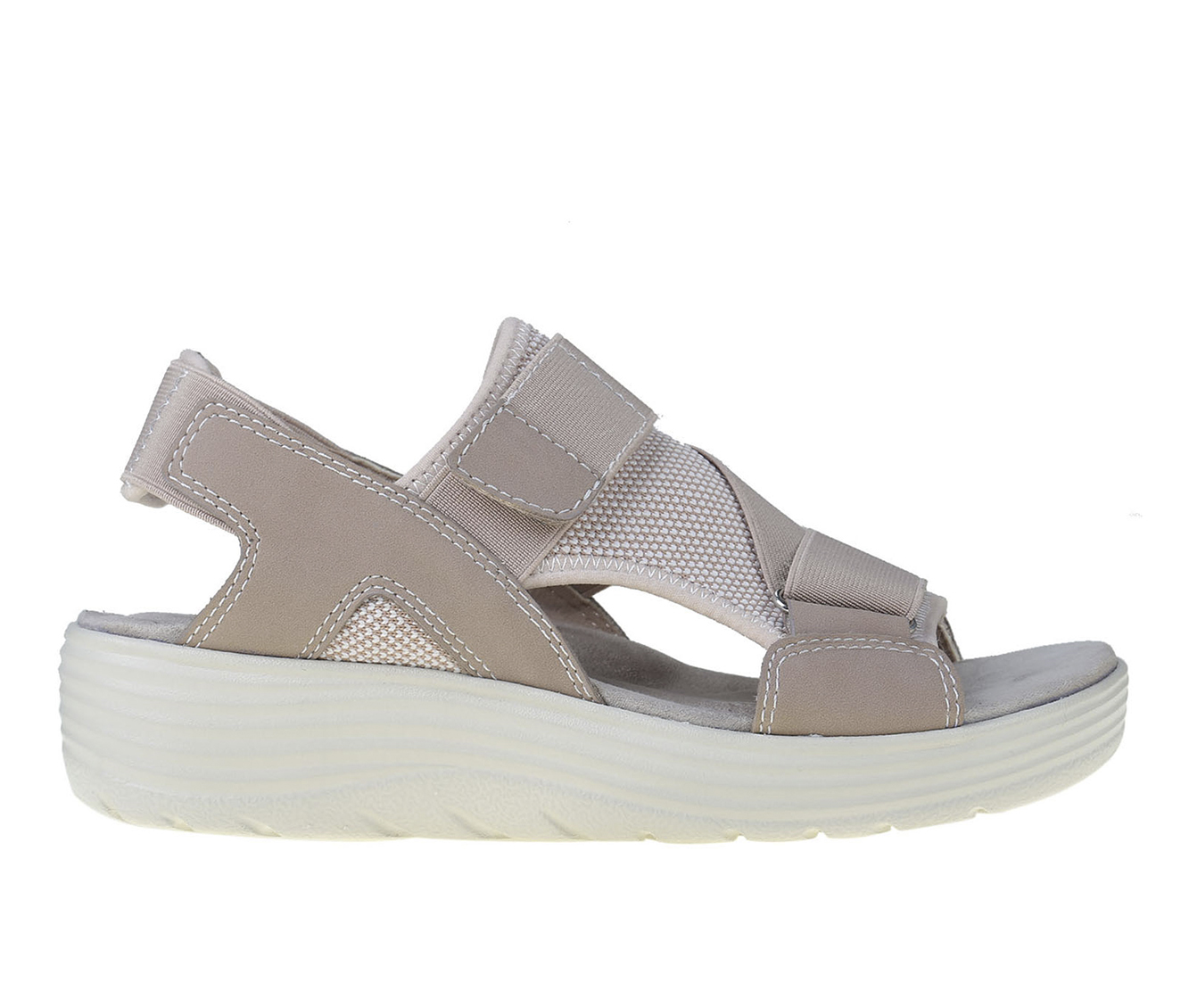 Earth Origins Willow Genevieve Women's Sandal (Pink Canvas)