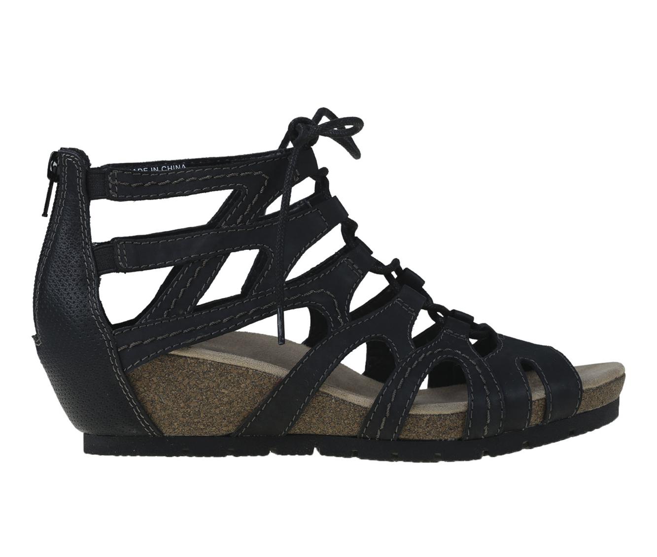 Earth Origins Kendra Kamilla Women's Sandal (Black Leather)