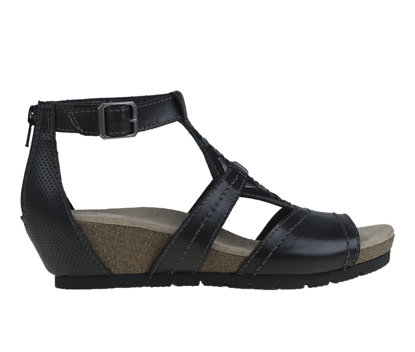 Earth Origins Kendra Kimber Women's Sandal (Black Leather)