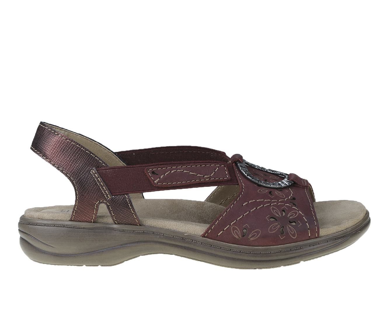 Earth Origins Stella Sabrina Women's Sandal (Red Leather)