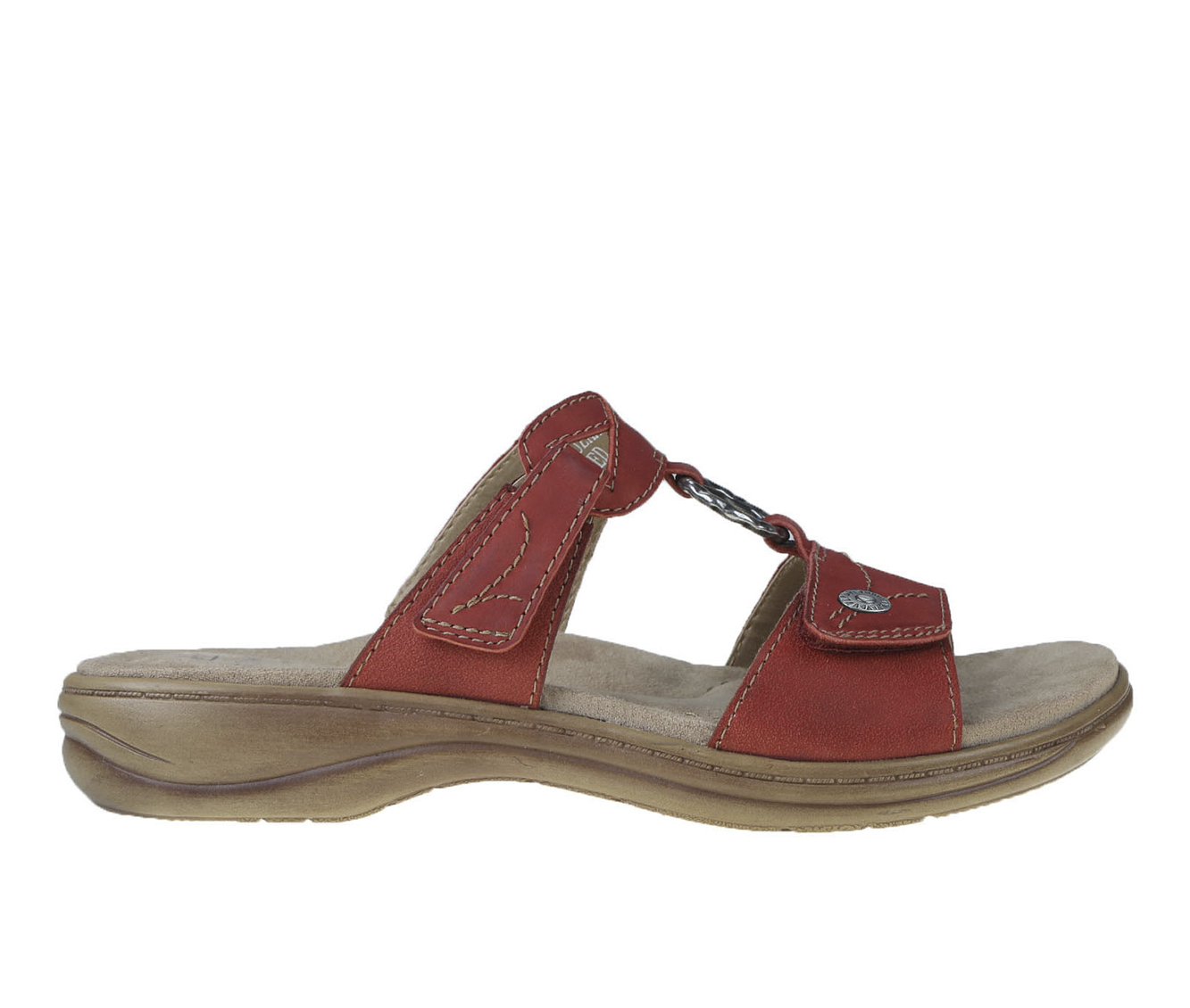 Earth Origins Stella Suzanne Women's Sandal (Red Leather)