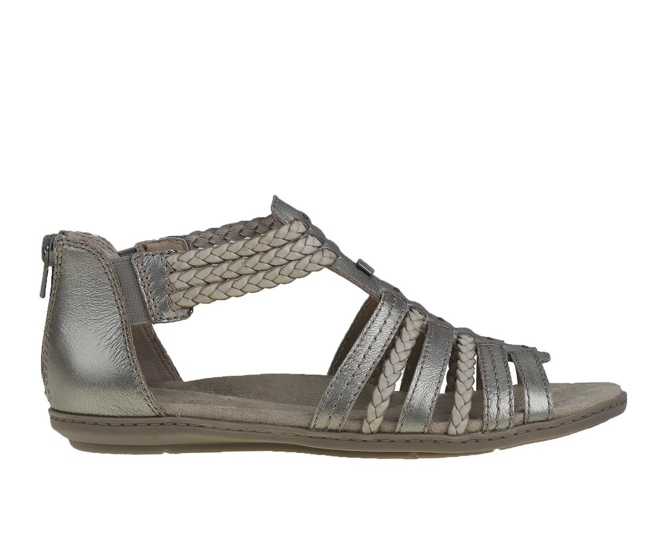 Earth Origins Belle Blaine Women's Sandal (Gray Leather)