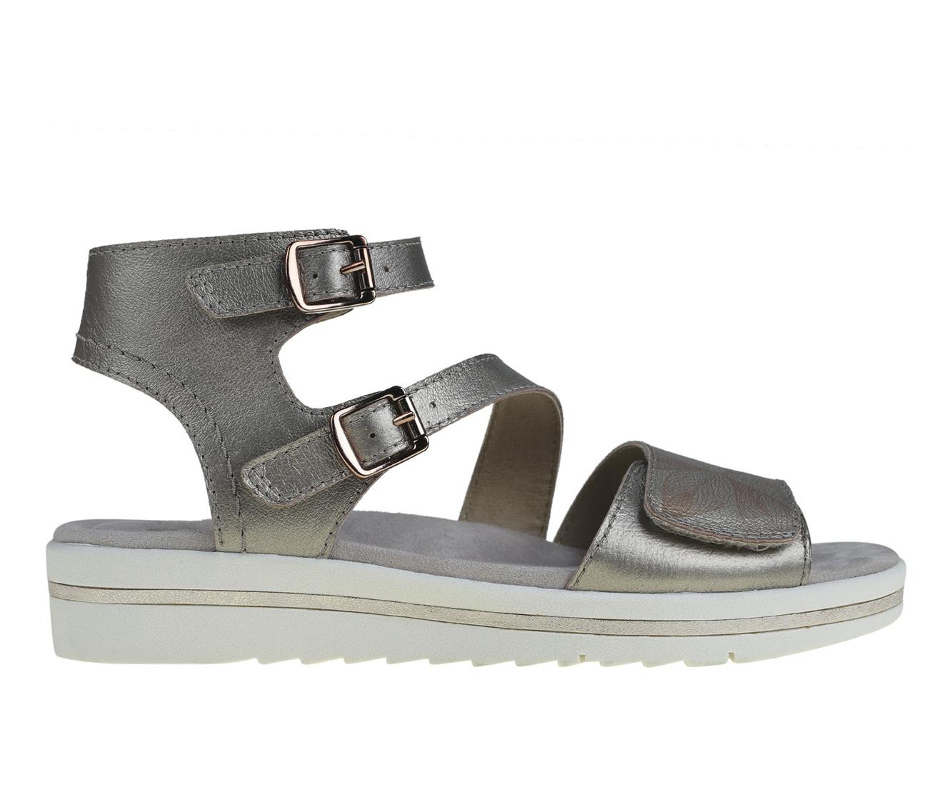 Earth Origins Carley Caroline Women's Sandal (Gray Leather)