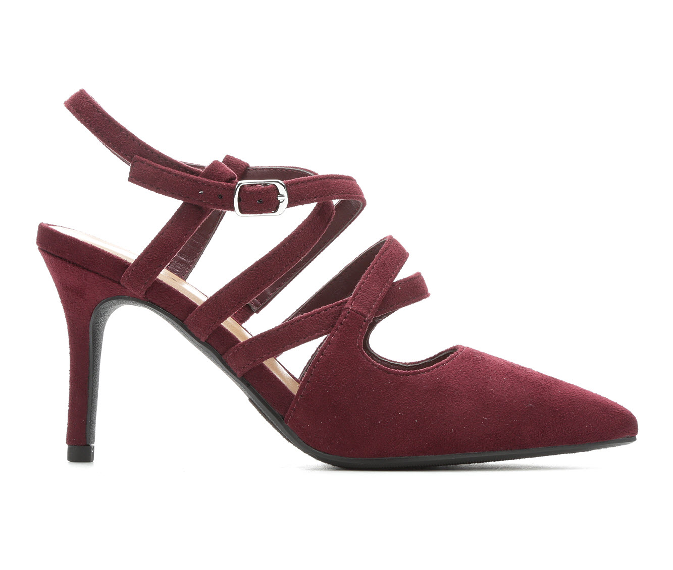 Solanz Belle Women's Dress Shoe (Red Canvas)