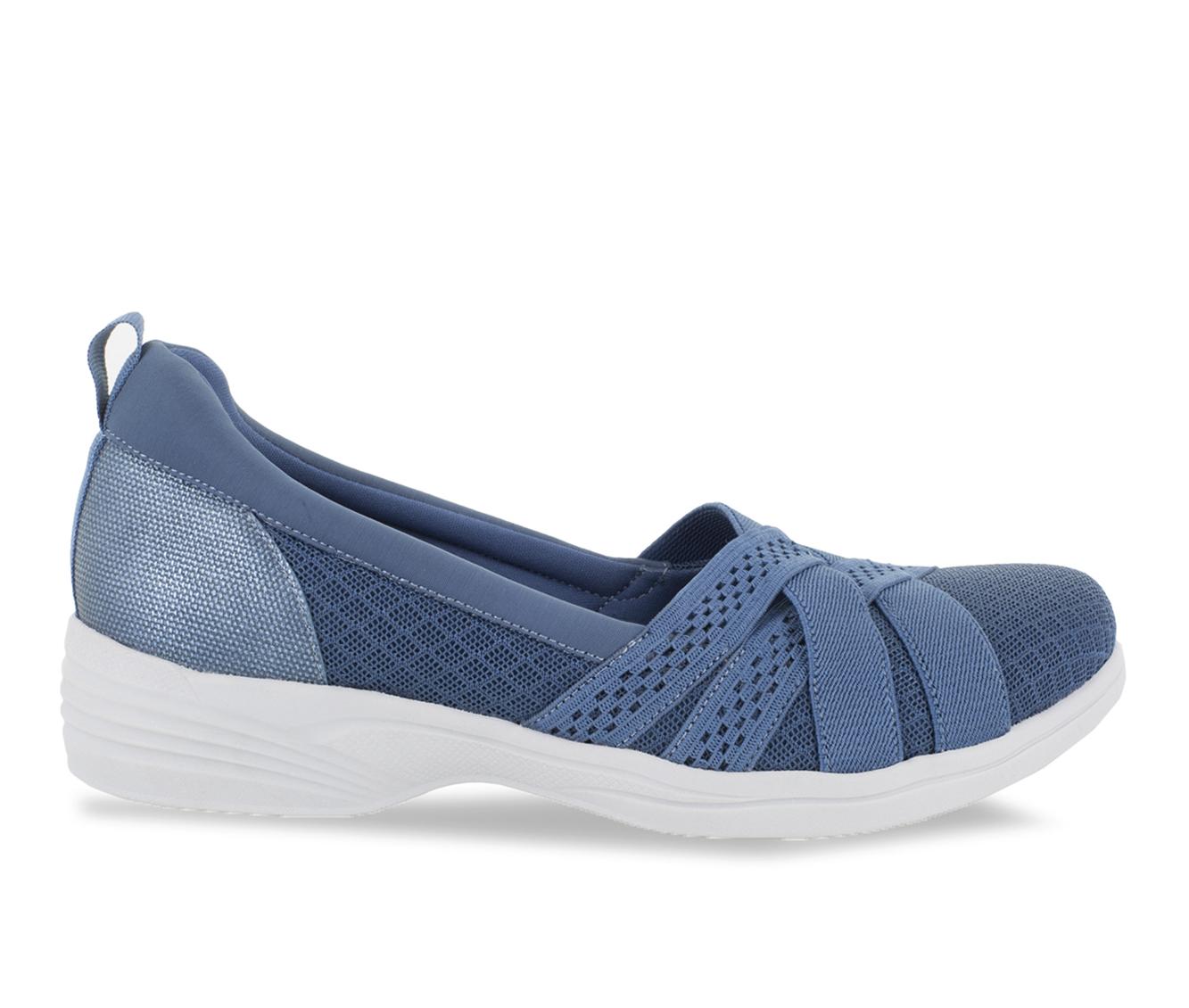 Easy Street Sheer Women's Shoe (Blue Canvas)
