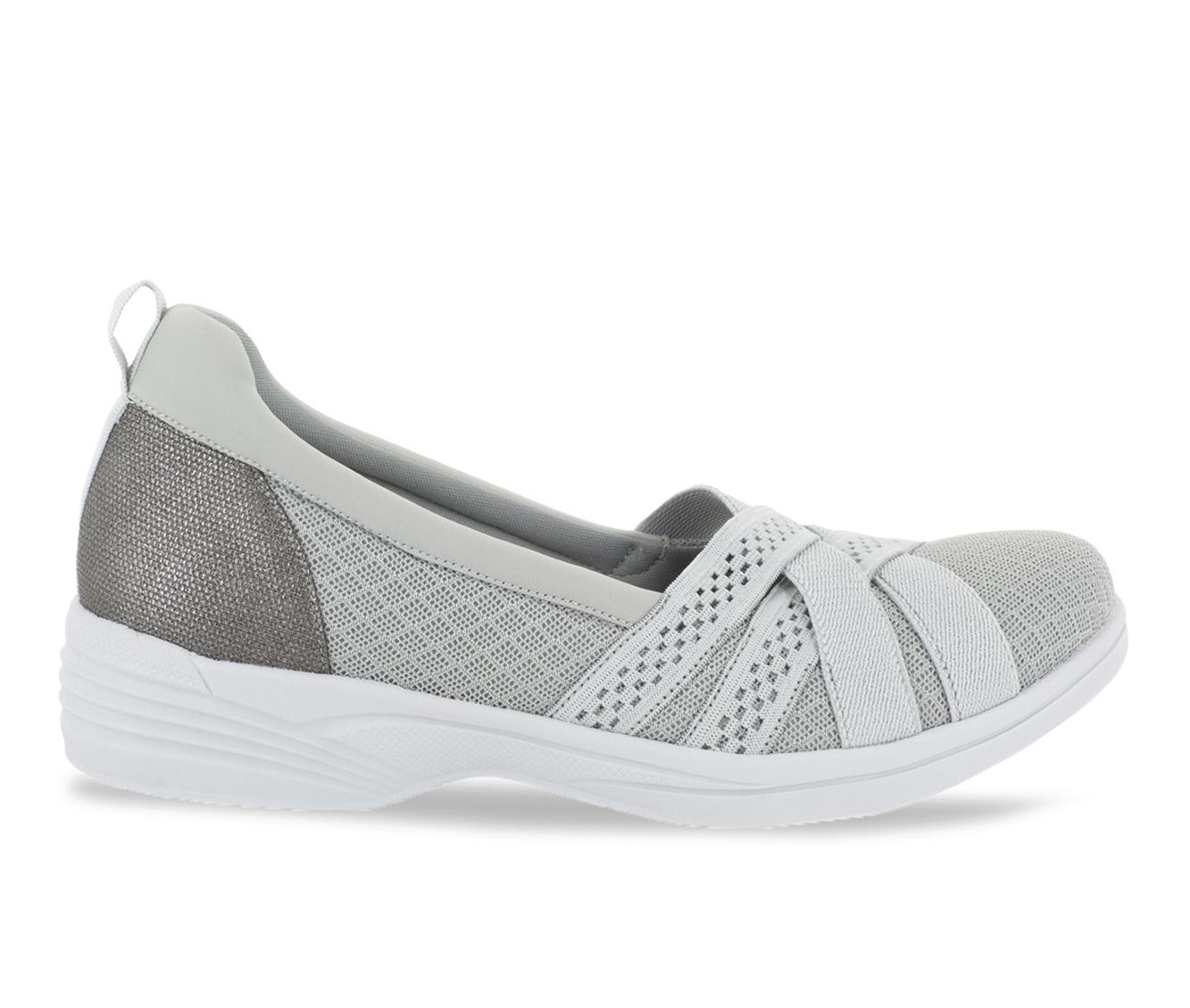 Easy Street Sheer Women's Shoe (Gray Canvas)