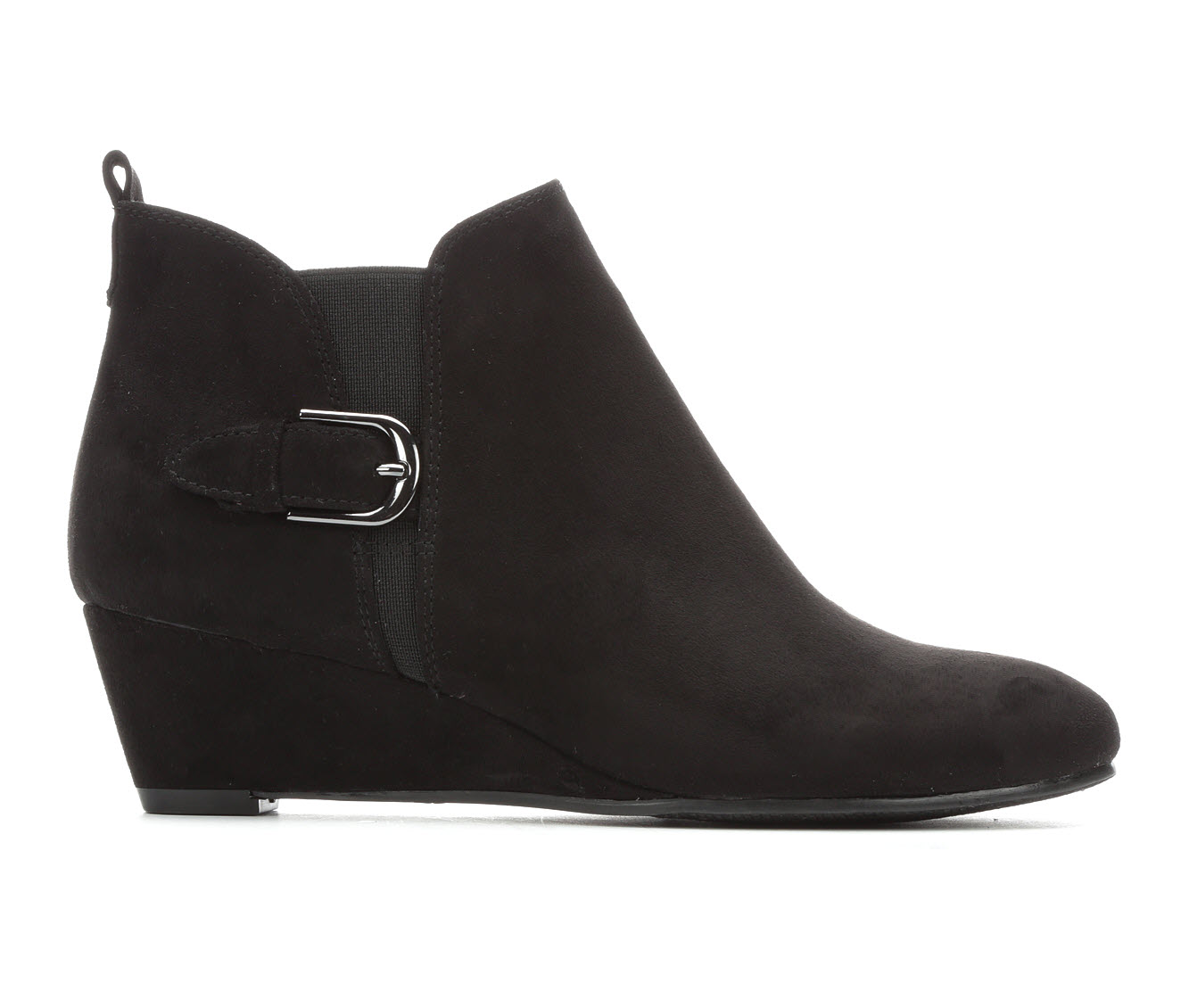 Solanz Stella Women's Dress Shoe (Black Canvas)