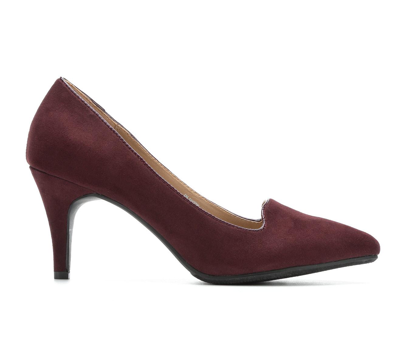 Solanz Payton Women's Dress Shoe (Red Canvas)