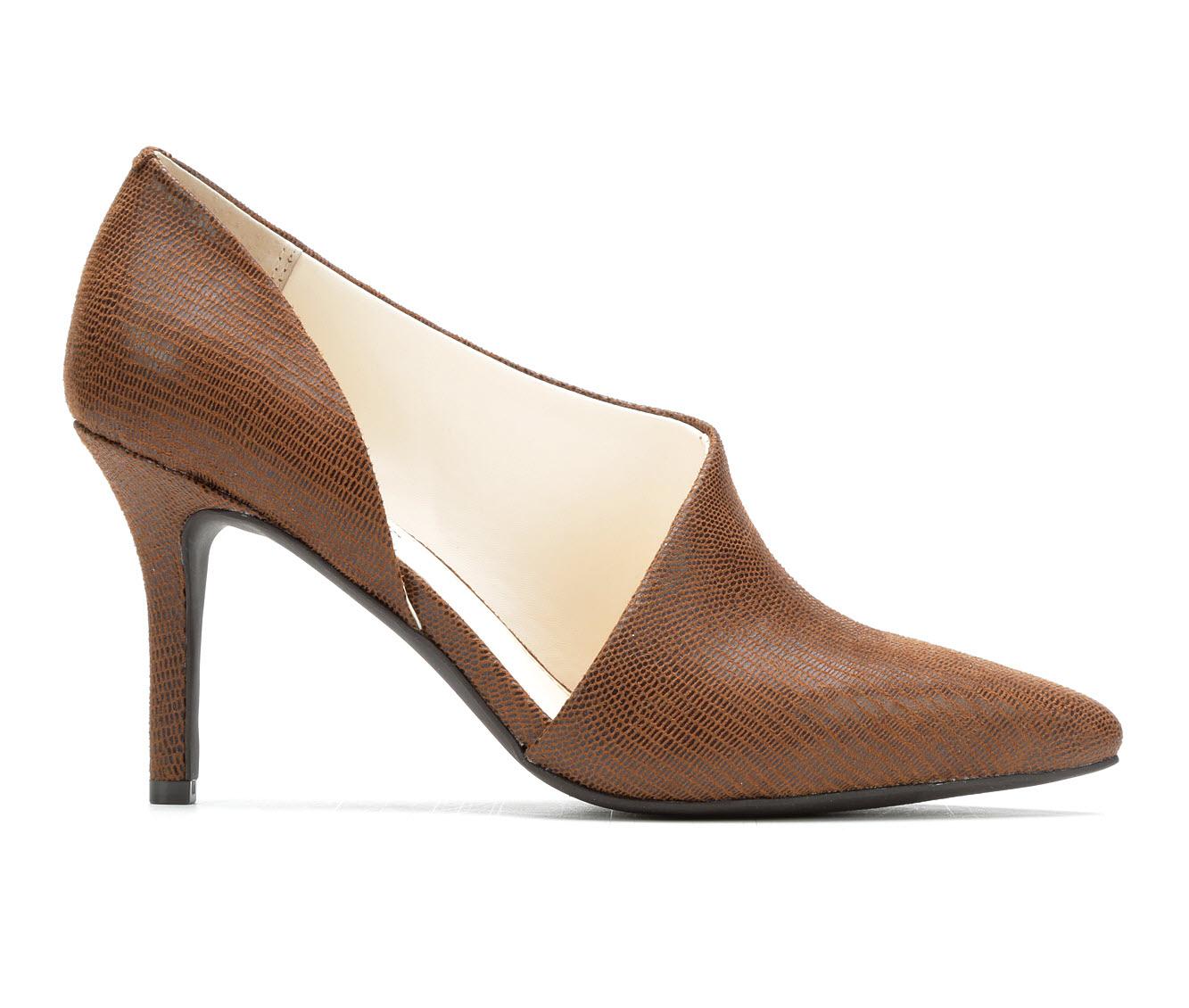 Seven Dials Shaylee Women's Dress Shoe (Brown Canvas)