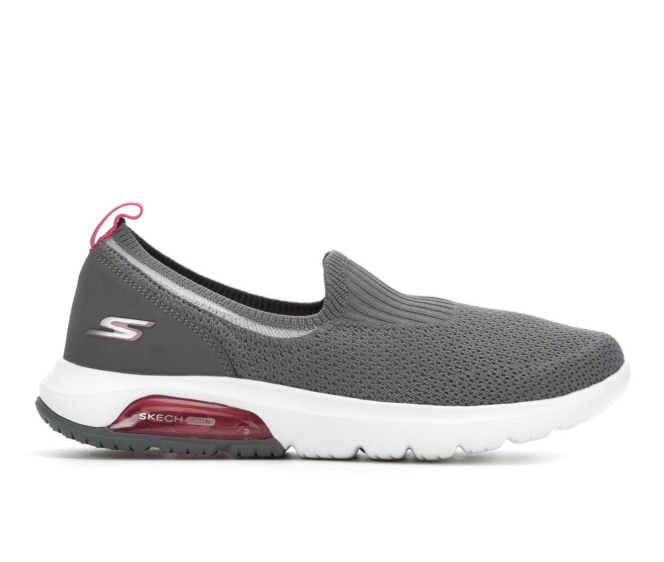 Skechers Go Go Walk Air 16099 Women's Shoe (Gray Canvas)