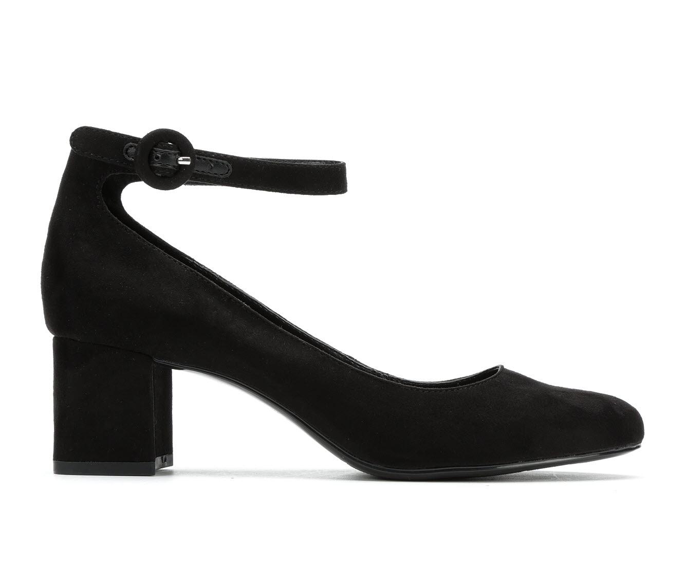Bandolino Odear Women's Dress Shoe (Black Faux Leather)