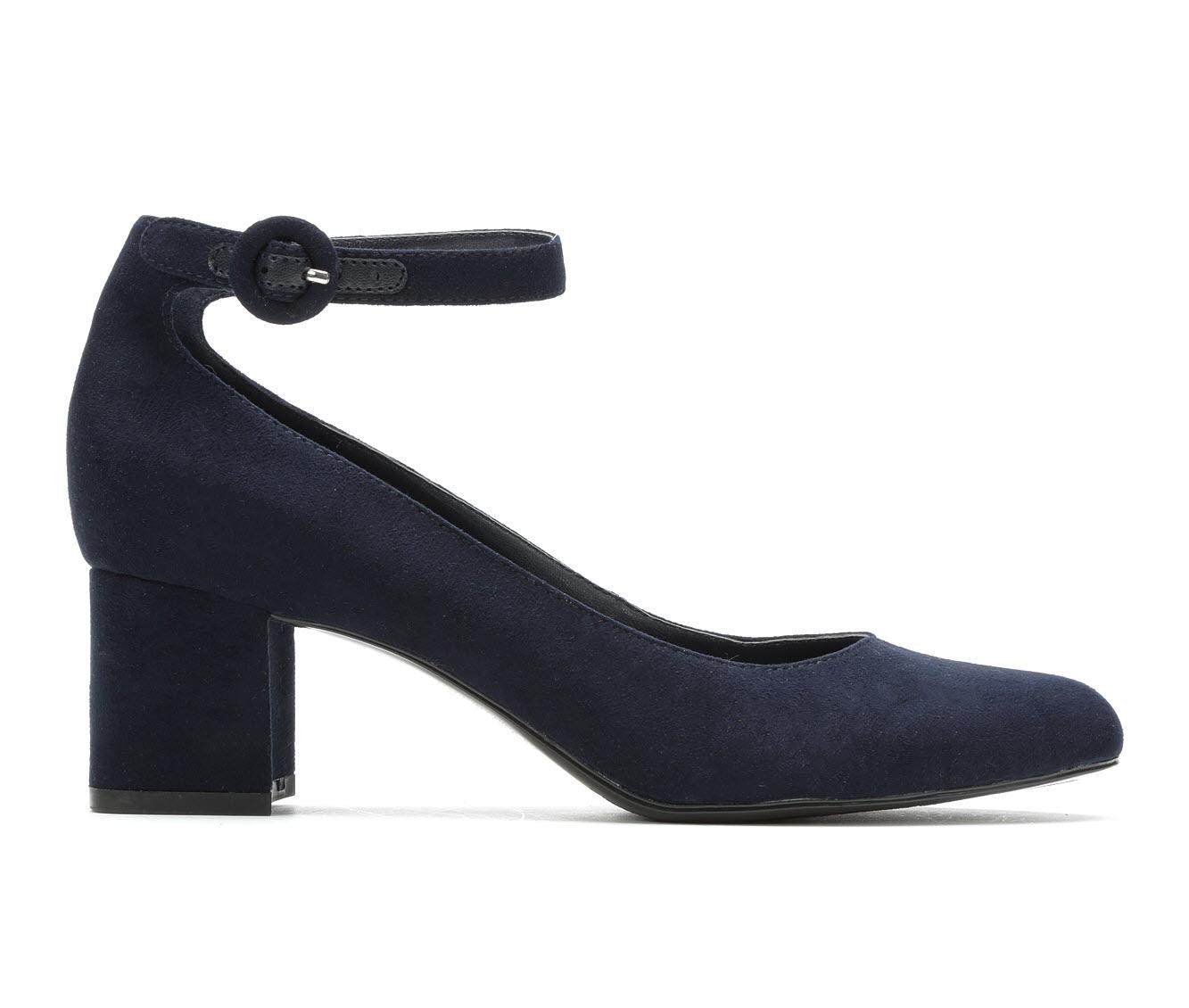 Bandolino Odear Women's Dress Shoe (Blue Faux Leather)