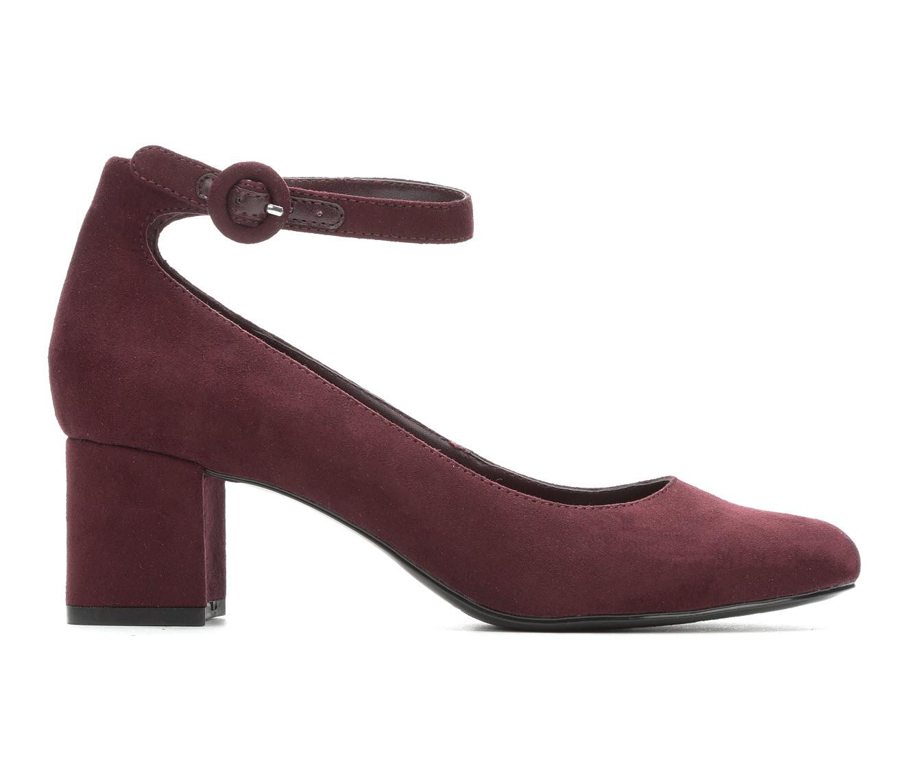 Bandolino Odear Women's Dress Shoe (Red Faux Leather)