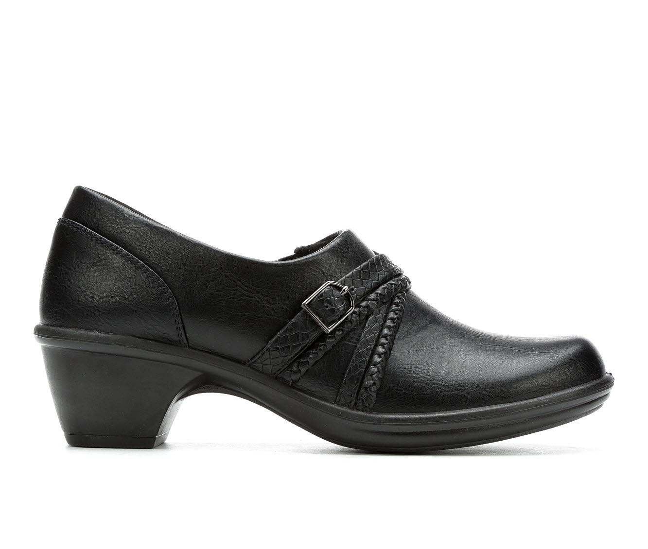 Easy Street Titan Women's Shoe (Black Faux Leather)