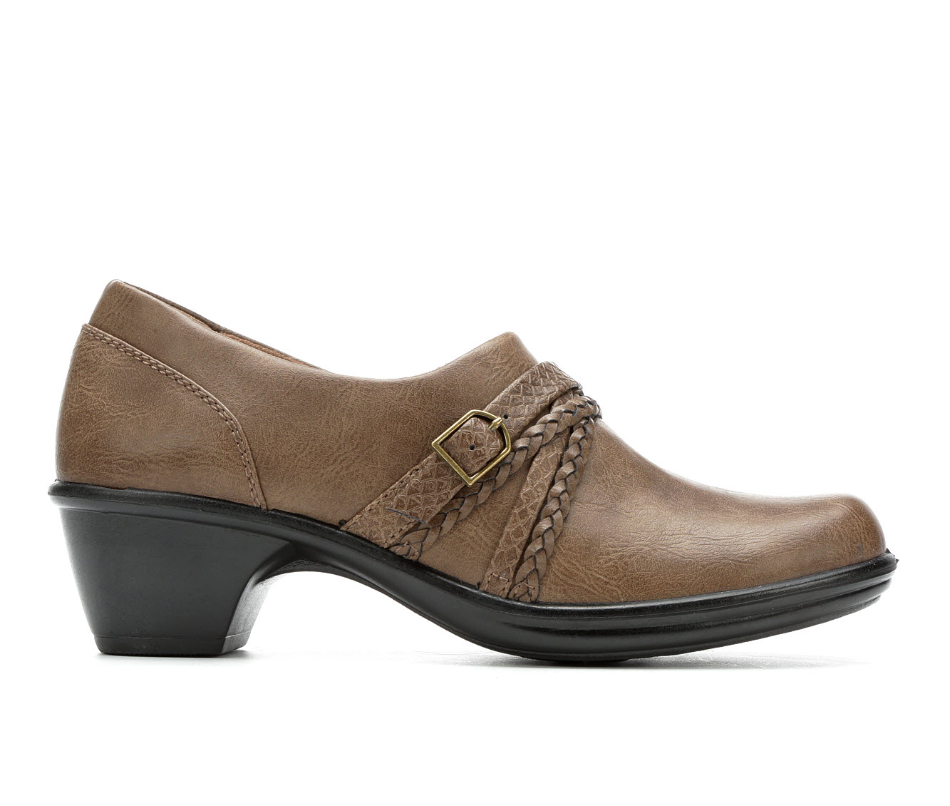Easy Street Titan Women's Shoe (Brown Faux Leather)