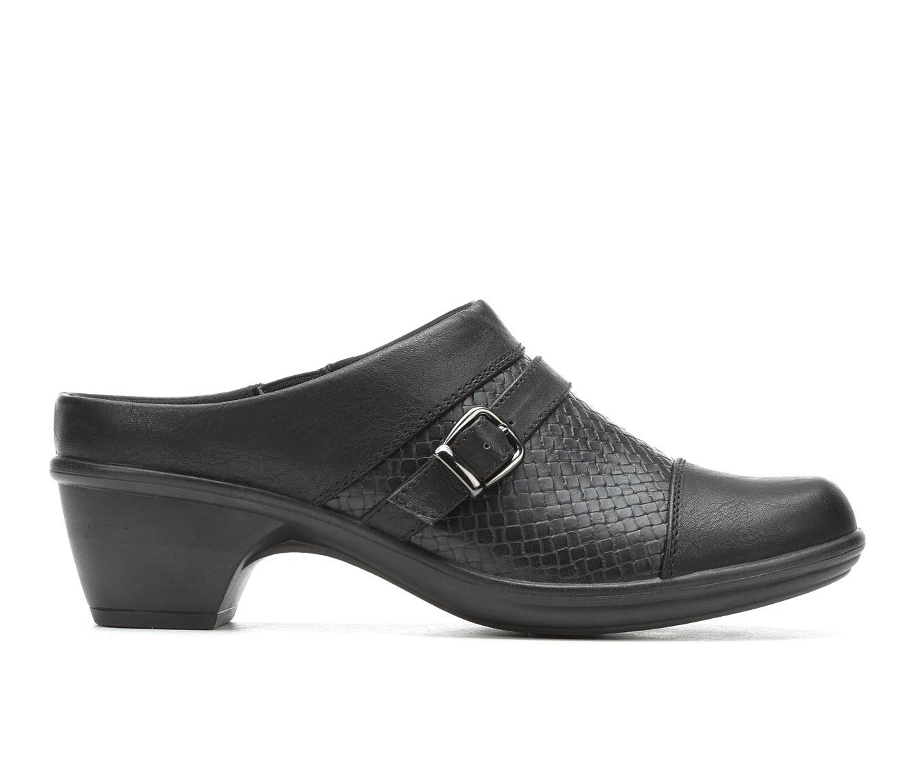 Easy Street Cleveland II Women's Shoe (Black Faux Leather)