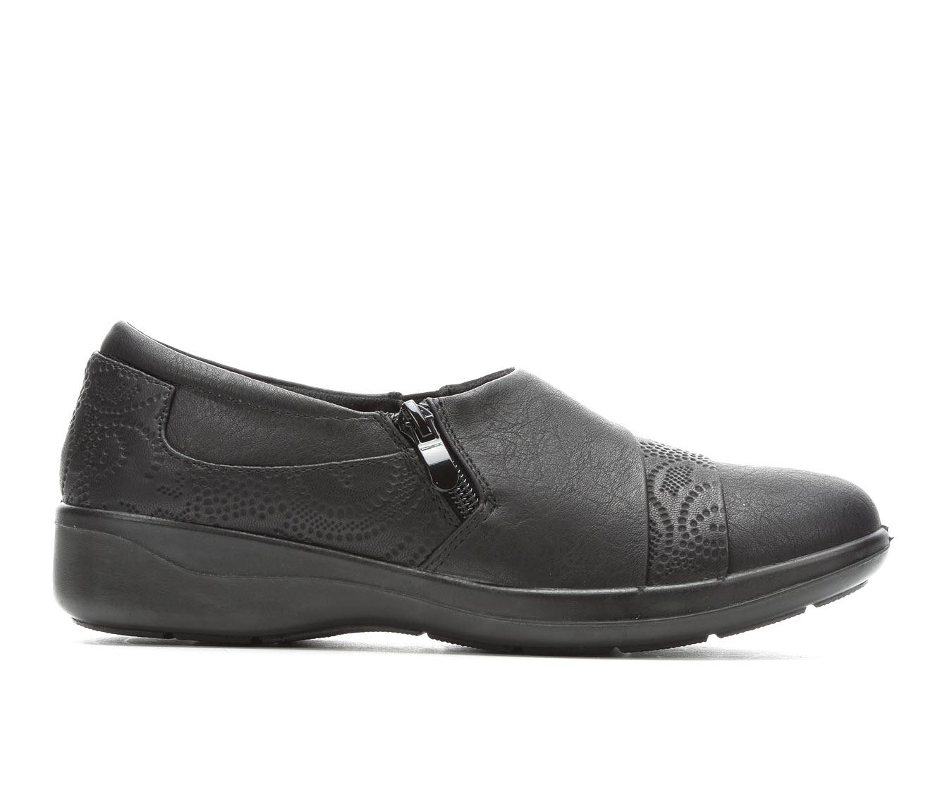 Easy Street Gavyn Women's Shoe (Black Faux Leather)