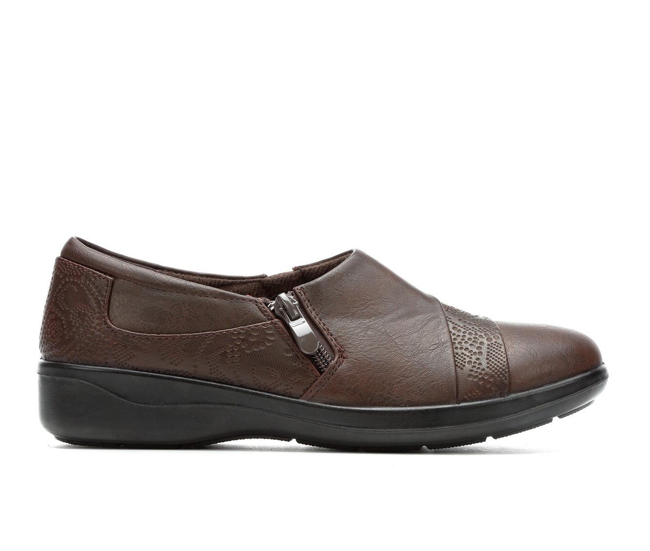 Easy Street Gavyn Women's Shoe (Brown Faux Leather)