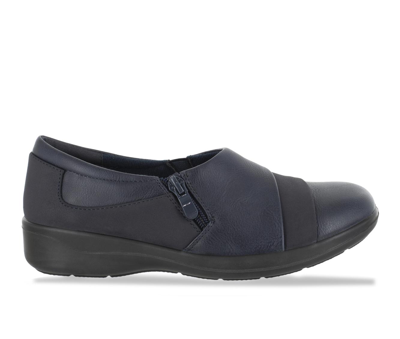 Easy Street Gavyn Women's Shoe (Blue Faux Leather)