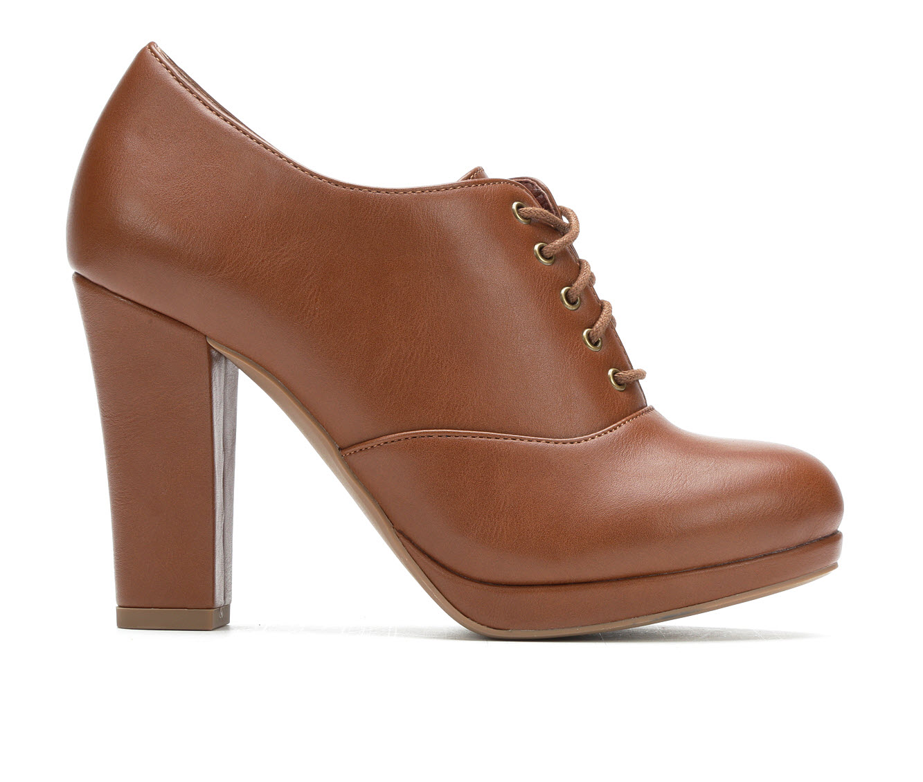 Y-Not Laurie Women's Dress Shoe (Beige Faux Leather)