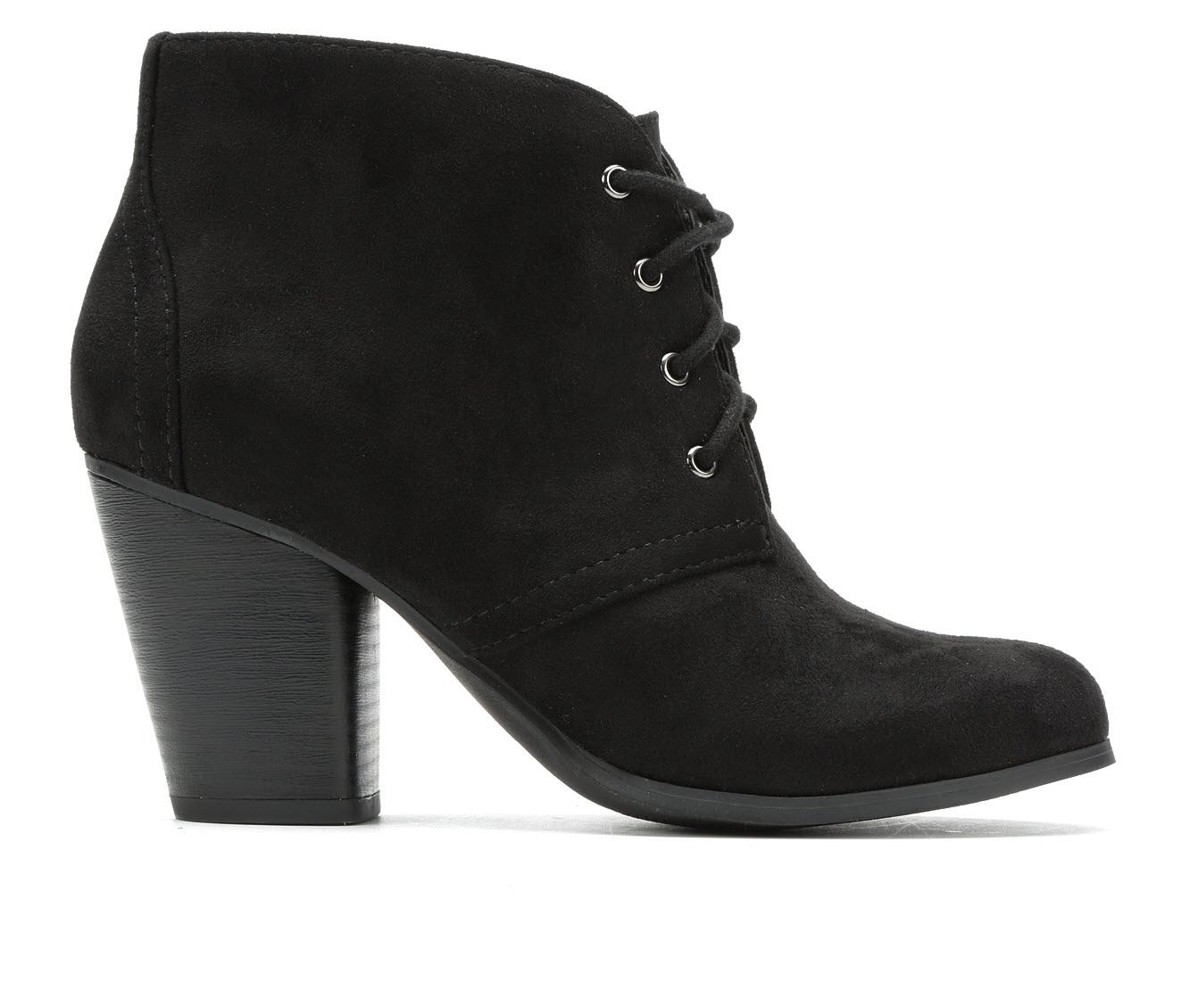 Y-Not Oana Women's Dress Shoe (Black Canvas)