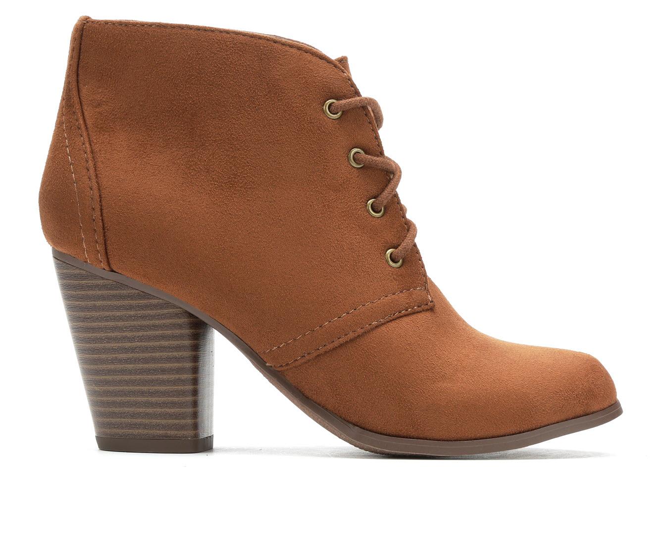 Y-Not Oana Women's Dress Shoe (Brown Canvas)