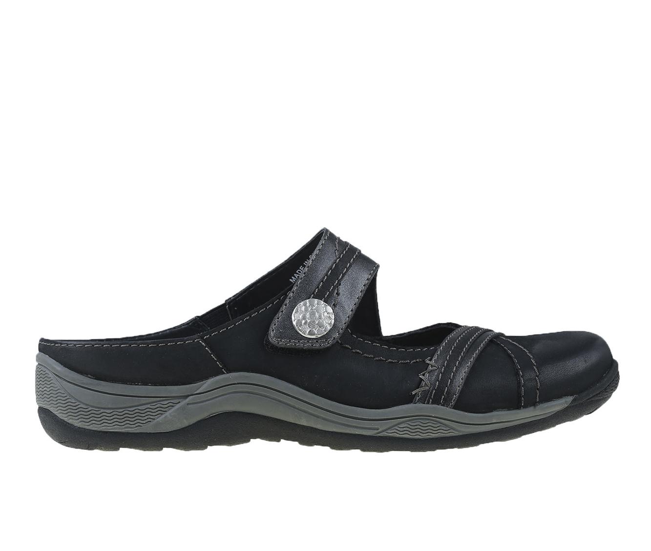 Earth Origins Clara Chloe Women's Shoe (Black Leather)