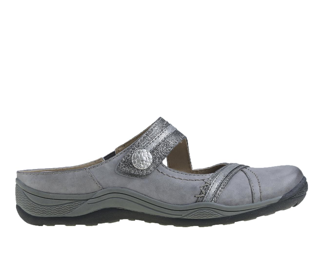 Earth Origins Clara Chloe Women's Shoe (Gray Leather)