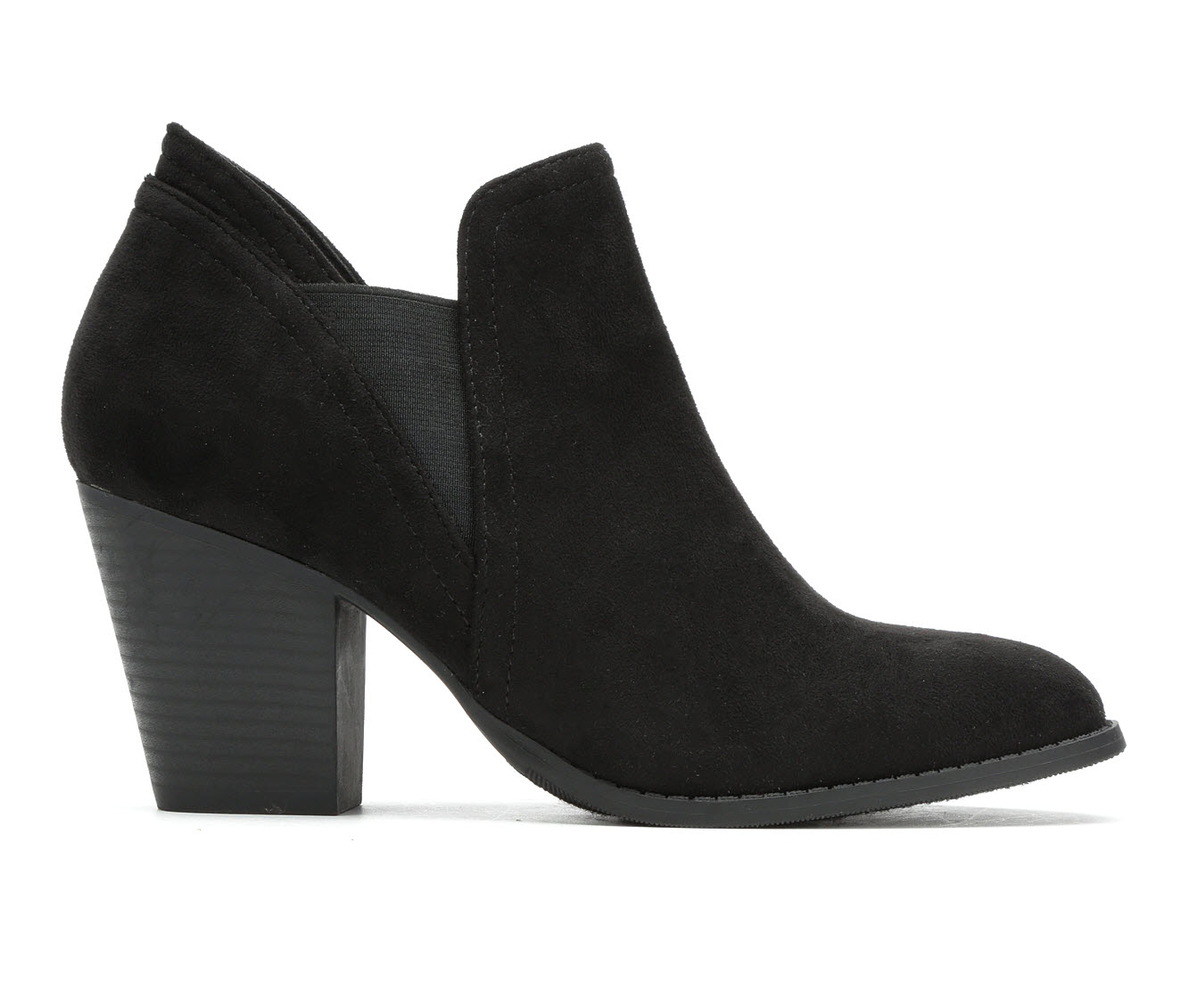 Y-Not Kirsten Women's Dress Shoe (Black Canvas)