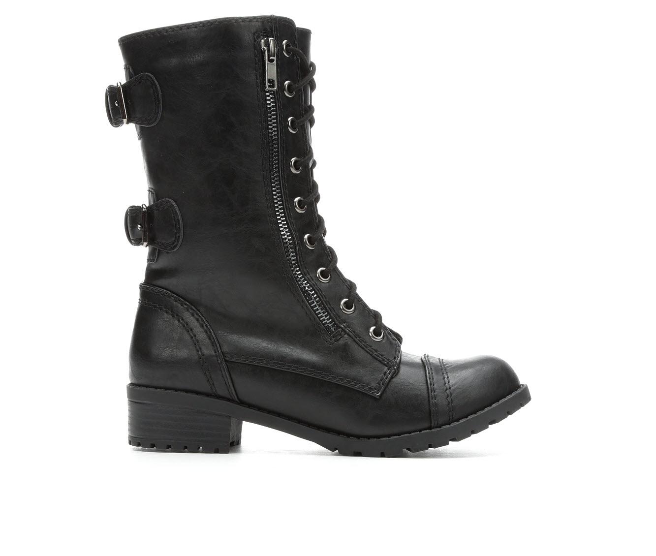 Unr8ed Dome Women's Boots (Black - Faux Leather)