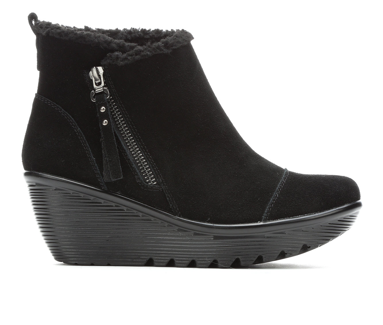 Skechers Parallel - Off Hours Women's Boot (Black Canvas)