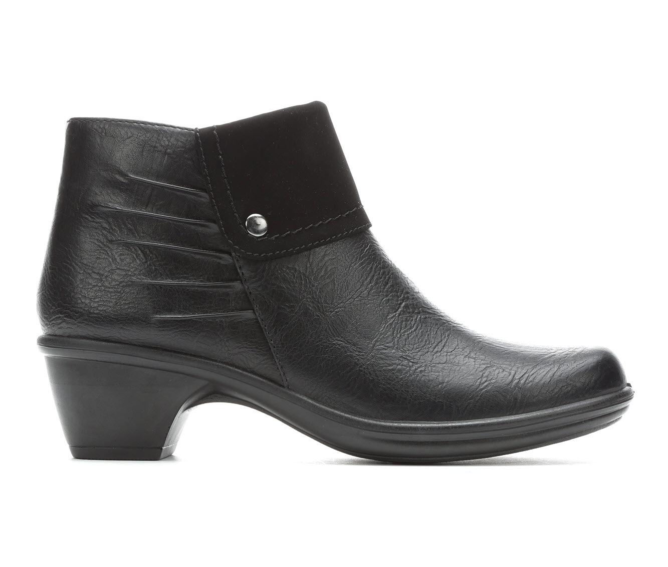 Easy Street Jayden Women's Boot (Black Faux Leather)