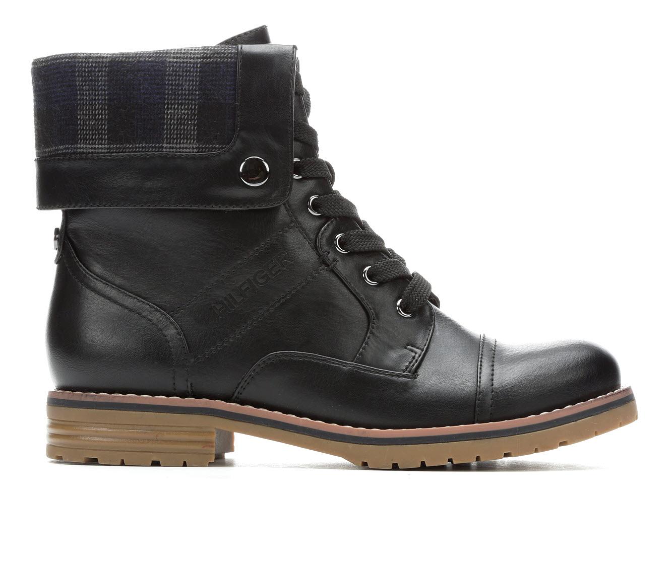 Tommy Hilfiger Oray Women's Boot (Black Canvas)