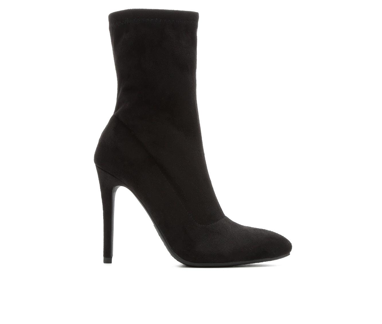 Y-Not Dean Women's Boot (Black Faux Leather)