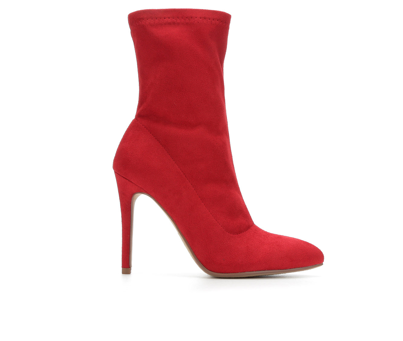 Y-Not Dean Women's Boot (Red Faux Leather)