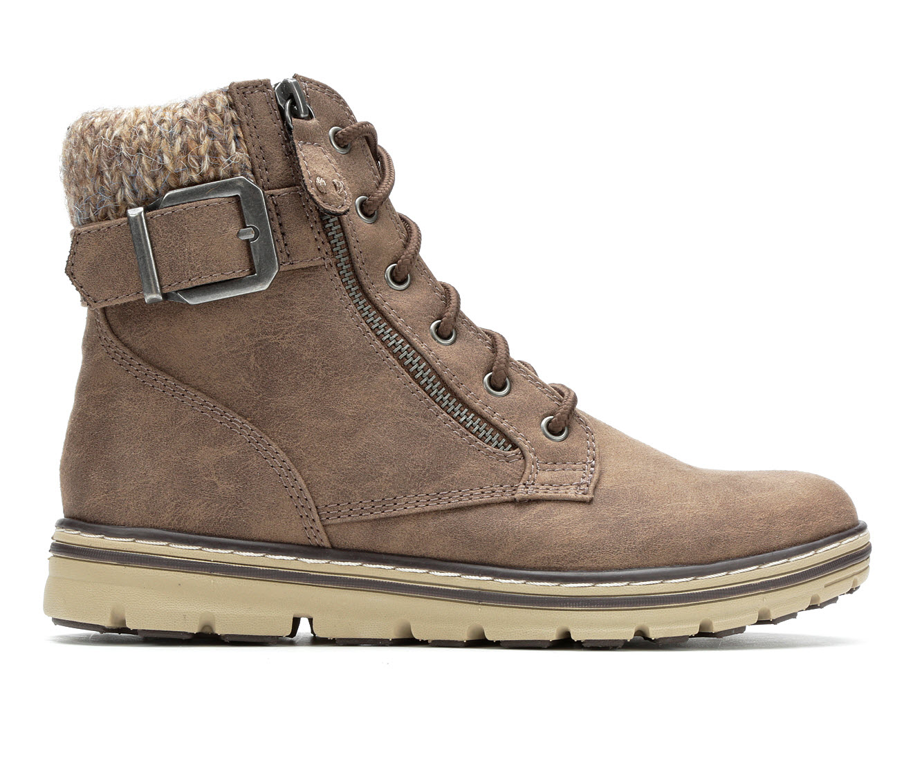 Cliffs Kelsie Women's Boot (Gray Faux Leather)
