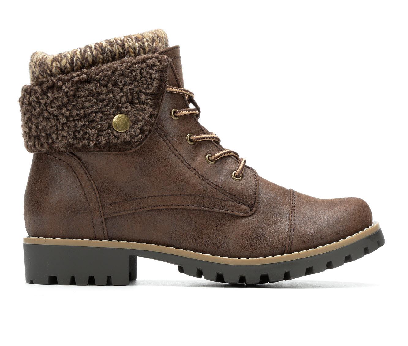 Cliffs Penfield Women's Boot (Brown Canvas)