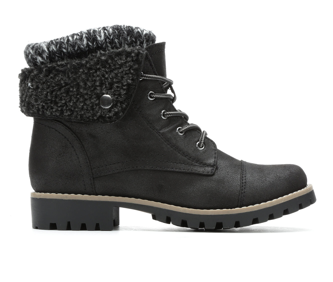 Cliffs Penfield Women's Boot (Black Canvas)