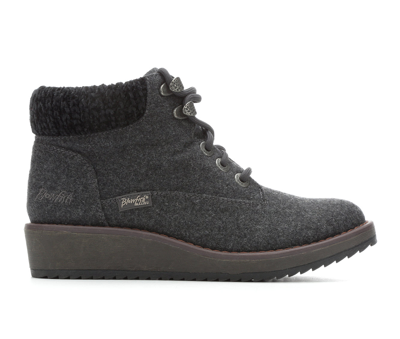 Blowfish Malibu Comet Women's Boots (Gray - Faux Leather)