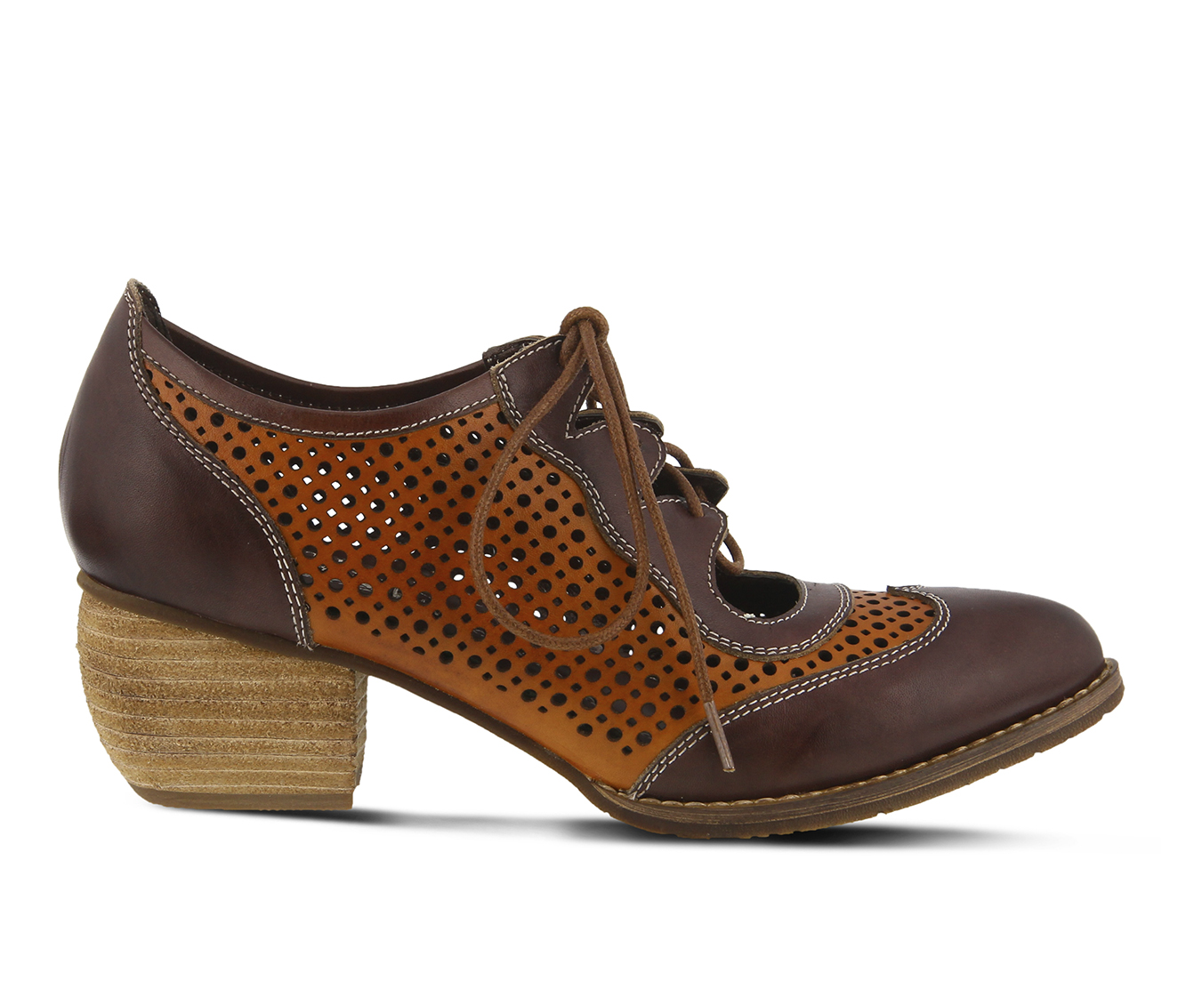 L'Artiste Gabriel Women's Shoe (Brown Leather)