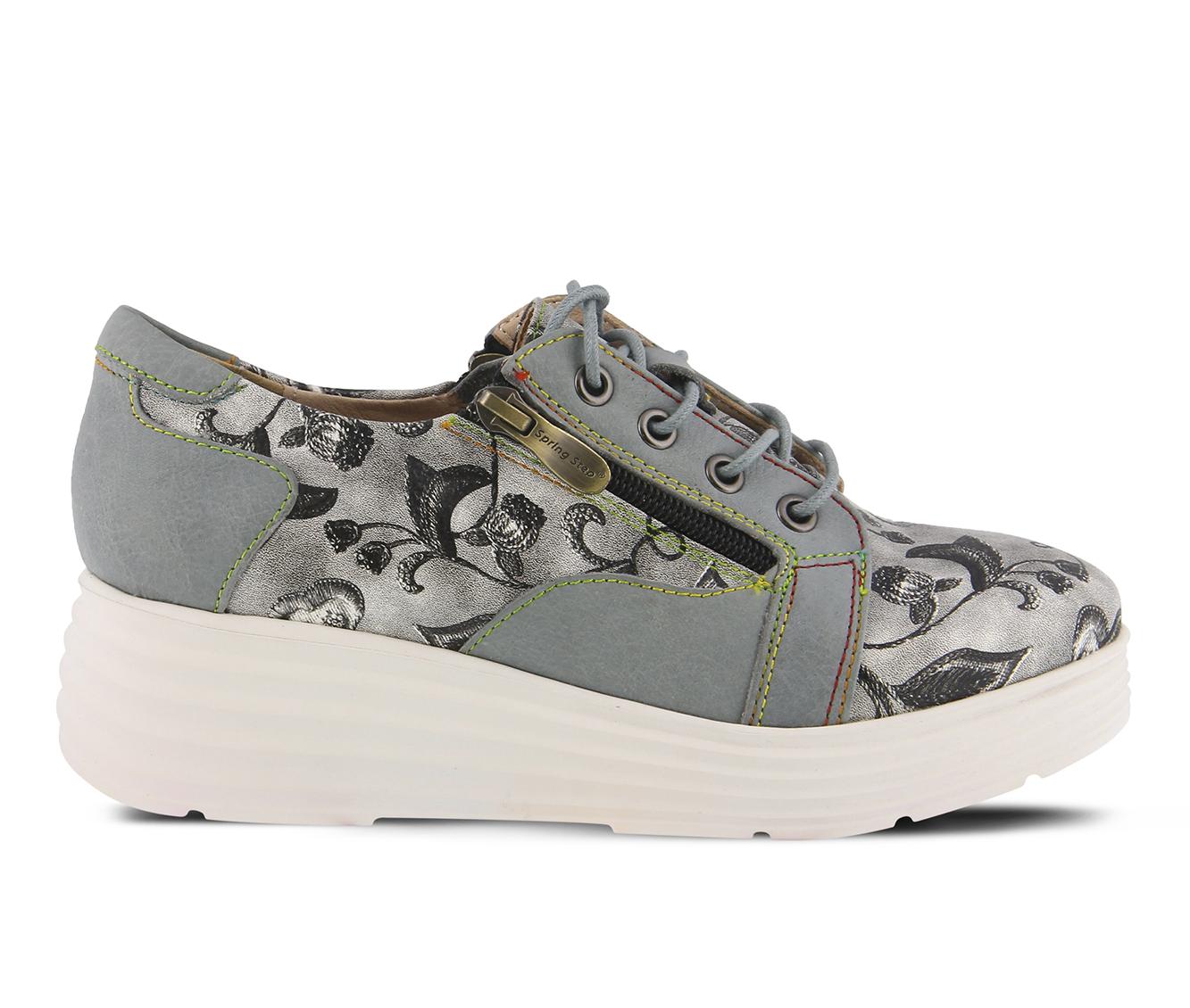 L'Artiste Daneen Women's Shoe (Gray Leather)