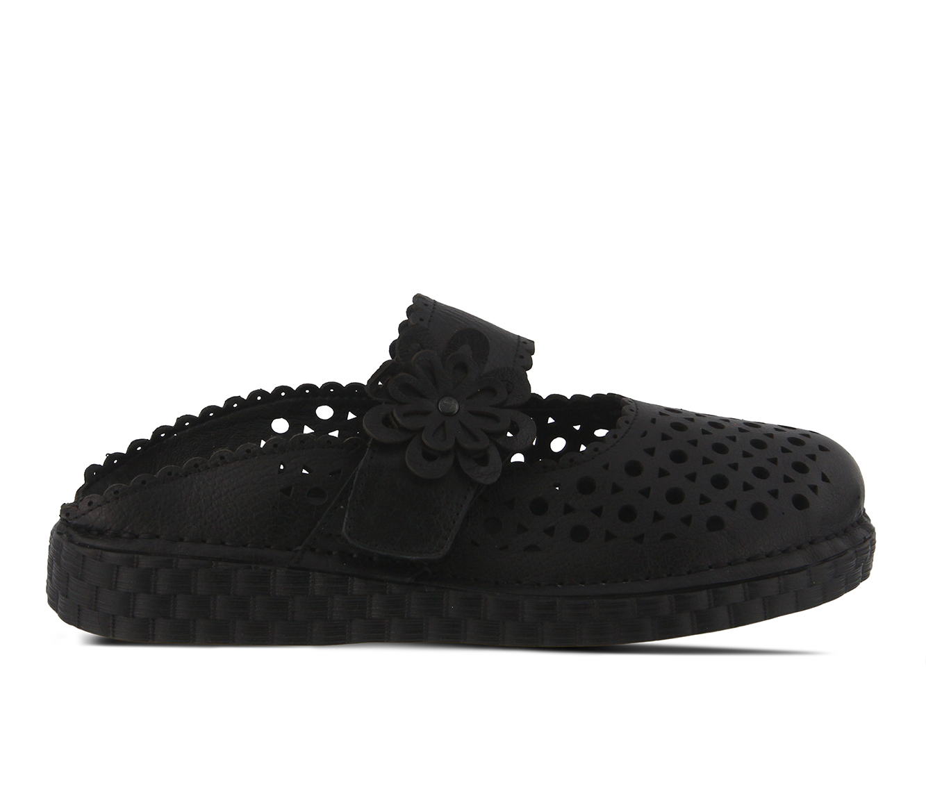 L'Artiste Smoosh Women's Shoe (Black Leather)