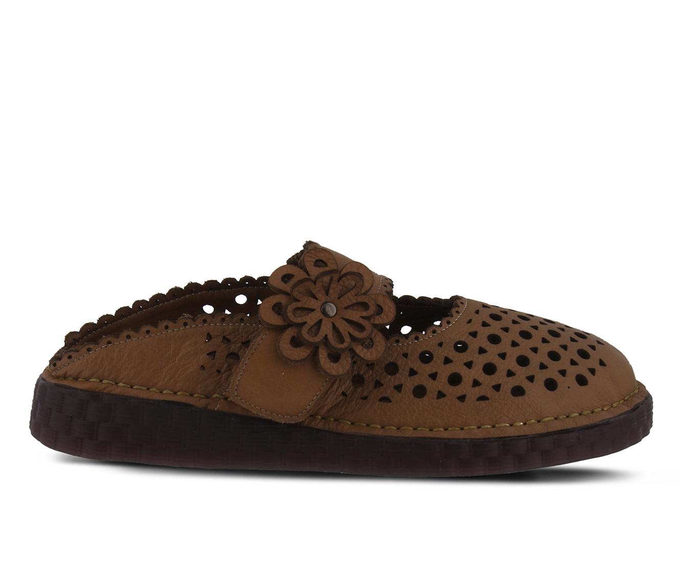L'Artiste Smoosh Women's Shoe (Brown Leather)