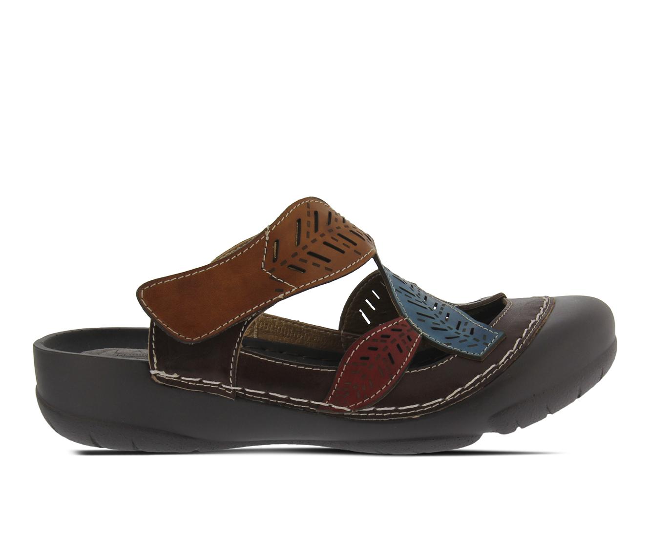 L'Artiste Jexa Women's Shoe (Brown Leather)