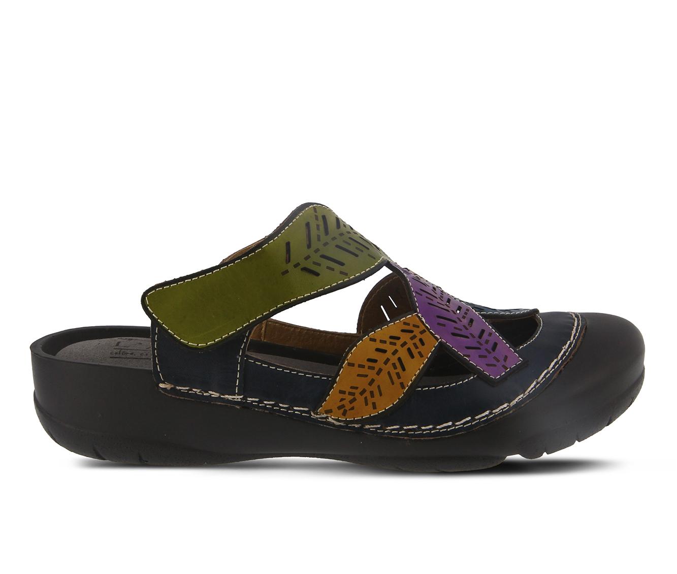 L'Artiste Jexa Women's Shoe (Blue Leather)