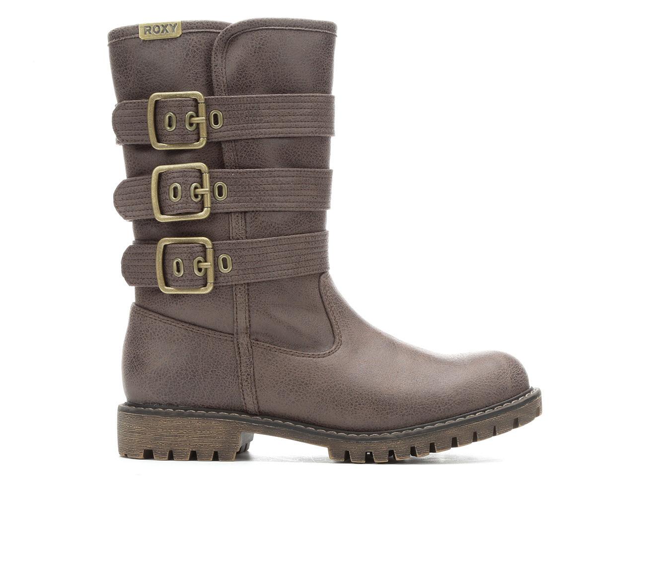 Roxy Bennett II Women's Boot (Brown Faux Leather)
