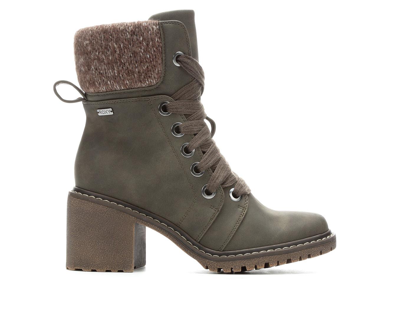 Roxy Whitley Women's Boot (Green Faux Leather)