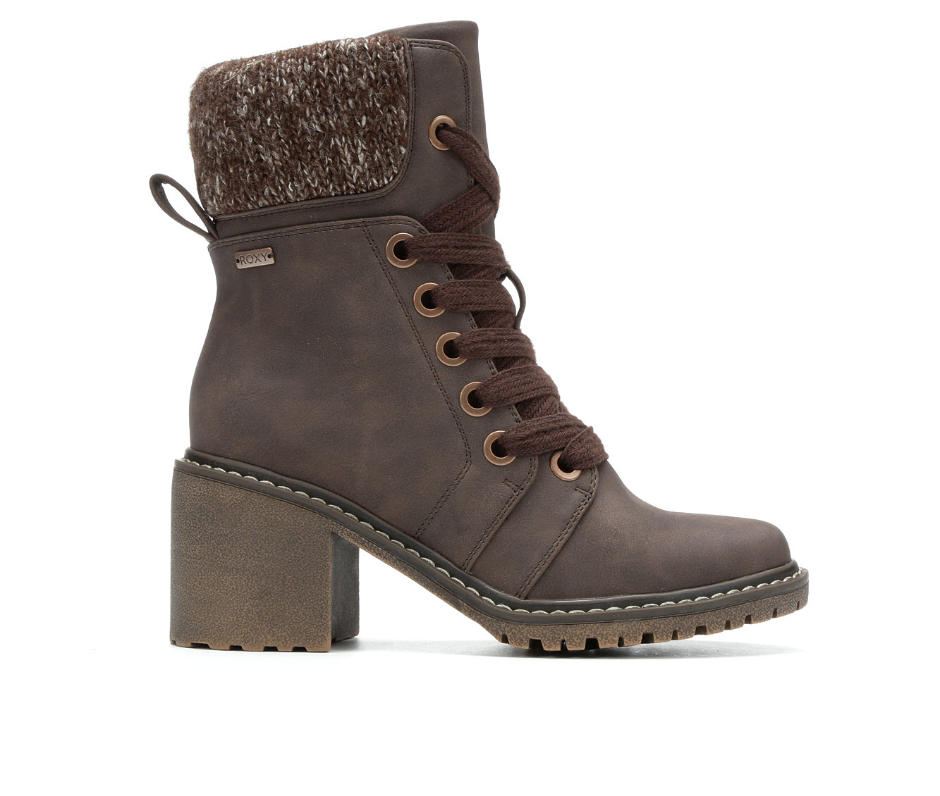 Roxy Whitley Women's Boot (Brown Faux Leather)